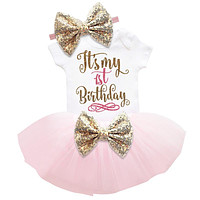 born Baby Girl Clothes Little Girl 1st Birthday Outfits Gift Infant Party Costume Toddler Clothing Baby Dress