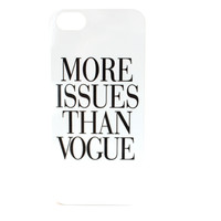 More Issues Than Vogue Phone Case