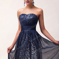 PLUS SIZE Sexy Graduation Prom Evening Cocktail Formal Long Bridesmaid Dresses