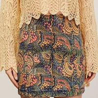 Free People Modern Femme Printed Mini