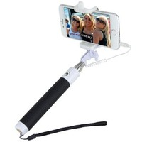 Selfie Stick, Nalanda Extendable Monopod With Universal Adjustable Phone Holder and Built-in Remote Shutter, Suitable for Samsung, iPhone and Other Devices