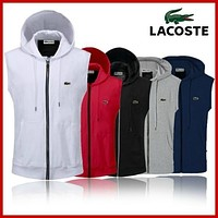 LACOSTE?POLOLIED?OUTDOOR?SPORTS?HOODIE?COAT?JACKETS