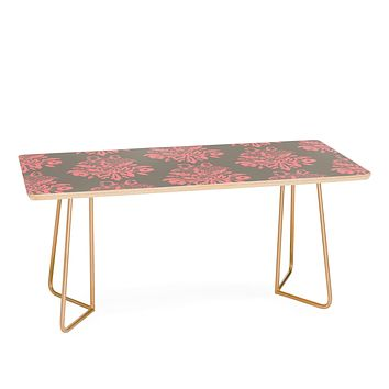 Morgan Kendall pink lace Coffee Table