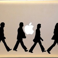 The Beetles Inspired Macbook Decal Vinyl Sticker for Mac PC Laptop | KrazyKutz - Housewares on ArtFire