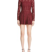 Mustard SeedLong Sleeve Lace Romper - 100% Bloomingdale's Exclusive