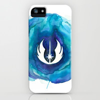 Star Wars Jedi Watercolor iPhone & iPod Case by Foreverwars