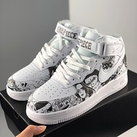 Nike Air Force 1 & One Piece co-branded new color-matching casual shoes