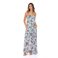 Agra Floral Maxi Dress