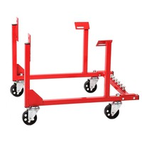 New 1000lb Engine Cradle Stand Chevrolet Chevy Chrysler with Dolly Wheels EC10