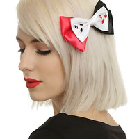 DC Comics Harley Quinn Cosplay Hair Bow