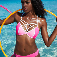 Strappy Front T-Back - PINK - Victoria's Secret