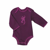 Browning Baby Bodysuit Purple