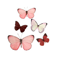 H&M - 5-pack Wall Decorations - Pink