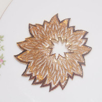 Brooch, Large Brooch, Abstract Brooch, Statement Brooch, Trifari Brooch, Crown Trifari Brooch, Gold - 1950s / 1960s