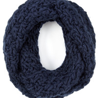 SGH Chunky Long Oversized Snood   Navy   Accessorize