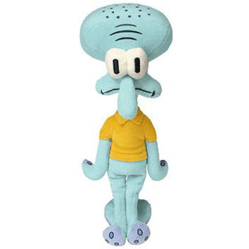 TY Beanie Baby - SQUIDWARD TENTACLES (Spongebob Movie Promo - 9.5 inch) Rare!