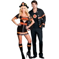 Smokin' Hot Firefighter Couples Costumes