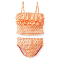 2-Piece Ruffled Tankini