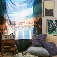 Chelsea Victoria For DENY Paris I Love You Tapestry