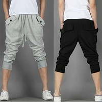 2017 Hot Mens Joggers Cargo Men Pants Sweatpants Harem Pants Men Jogger Pants Men Pantalones Hombre man trousers
