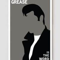 """Grease Is The Word Art Print / Poster 11"""" x 17"""""""