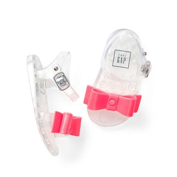 Jelly Bow Sandals|gap