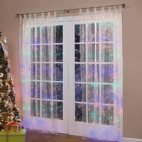 Brylanehome Pre-Lit Curtain Panel (Multi)