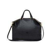 Effie Tote in Black Spongy Pebbled | Women's Bags | Mulberry