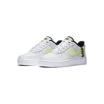 Nike Air Force 1 Low GS Worldwide Pack - White Barely Volt