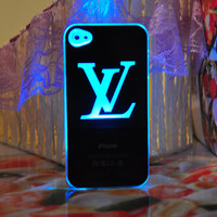 New Louis Vuitton LED Hard Cover Case For iPhone 5