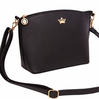Casual small imperial crown candy color handbags ladies party purse