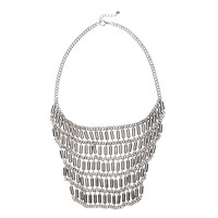 Cylinder&Chain Necklace