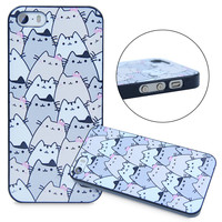 Funny Designs Cute Because Cats Skin Case Cover For iPhone 4 4S 5 5S SE 5C 6 6s 6 Plus 6sPlus