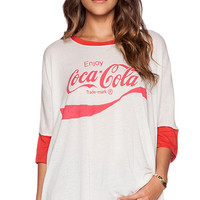 Wildfox Couture Cocoa Cola Tee in White