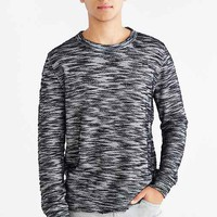 Koto Textured Crew Neck Sweatshirt-