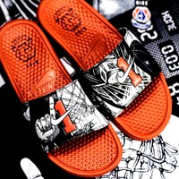 NIKE BENASSI JDI PRINT Tide brand men's basketball slippers