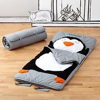How Do You Zoo Sleeping Bag (Penguin) in New Kids Bedding | The Land of Nod