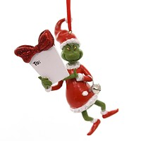 Holiday Ornaments GRINCH PERSONALIZABLE ORNAMENT Department 56 4057458