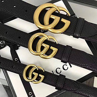 GUCCI GG classic double G buckle belt