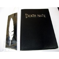Death Note Light Notebook with Featherpen
