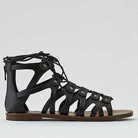 AEO Lace-Up Sandal , Black