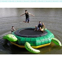 Island Hopper Turtle Jump 15 Foot Water Trampoline 2012:Amazon:Toys & Games