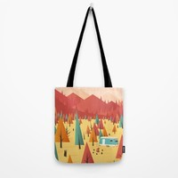 Go out Tote Bag by Roland Banrevi