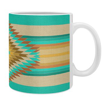 Bianca Green Fiesta Teal Coffee Mug