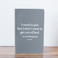 THE POTTY MINI-NOTEBOOK