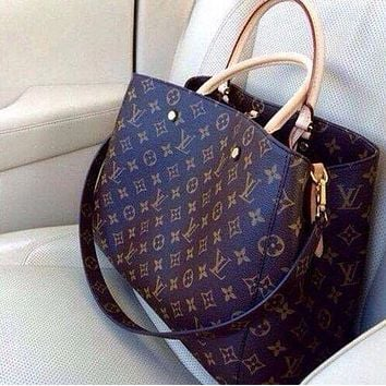 LV Fashion new more letter bee leather shopping leisure shoulder bag crossbody bag handbag