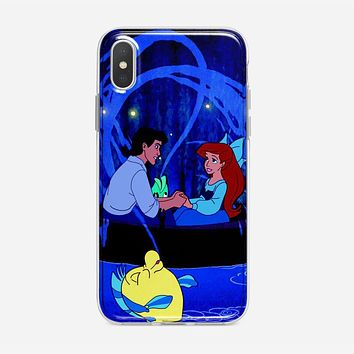 Ariel Little Mermaid Tattoo iPhone X Case