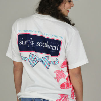Turtles & Bows Simply Southern Tee