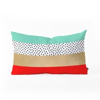 Elisabeth Fredriksson Summer Fresh Oblong Throw Pillow