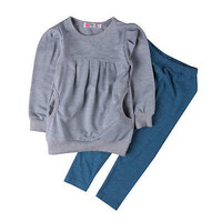 Autumn Kids Clothes Boys Girls Clothing Set Baby Toddler Girls Clothing T-shirt Tops+Pants Outfits Clothes 2PCS Set